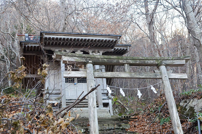 Otayama Shrine in Setana