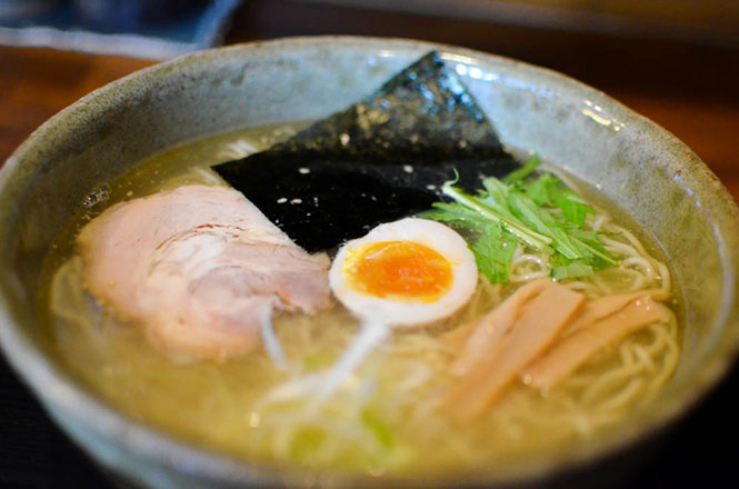 Salt Broth Ramen -Ramen Sobo Fuji in Otofuke-