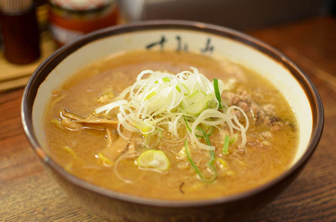 Miso Ramen -Sumire Head Office in Sapporo-