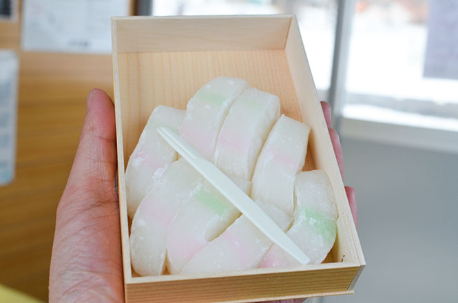Tunnel-mochi Rice Cake -Suetsugu Shokai in Kyowa-