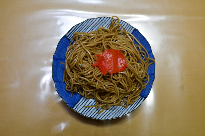 Bibai Fried Noodles -Kadoya in Bibai-