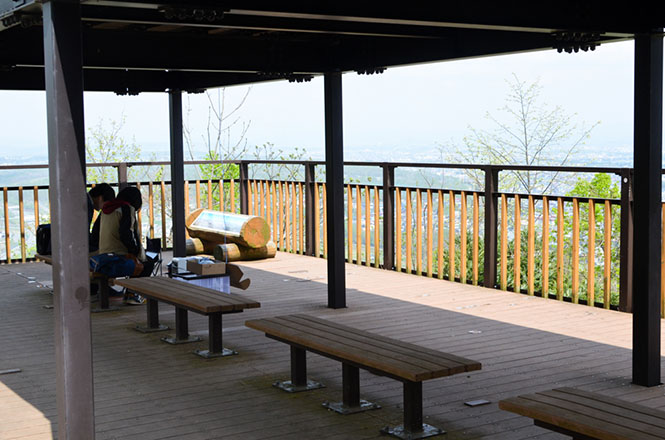 Arashiyama Observation Deck in Asahikawa