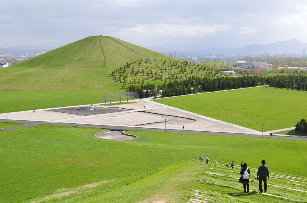 Cherry Blossoms and Molding Can Be Enjoyed with Natural Sculpture -Moerenuma ...