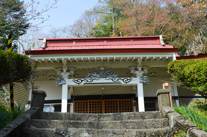 Mitsuishi Utafue Shrine in Shinhidaka