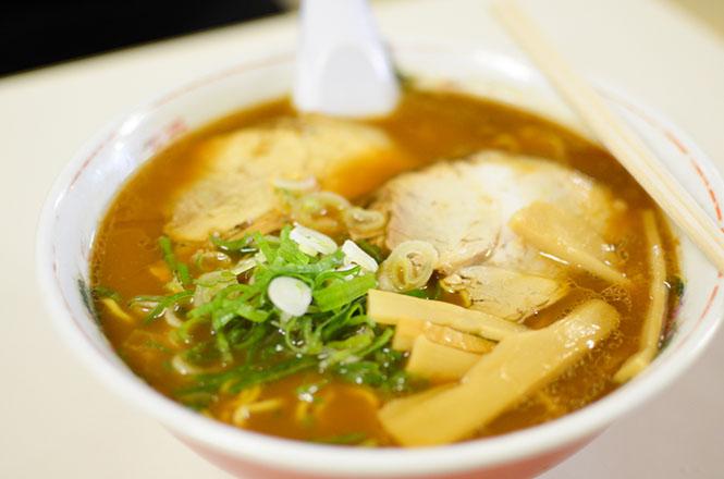 Soy Sauce Ramen -New Home Run in Asahikawa-