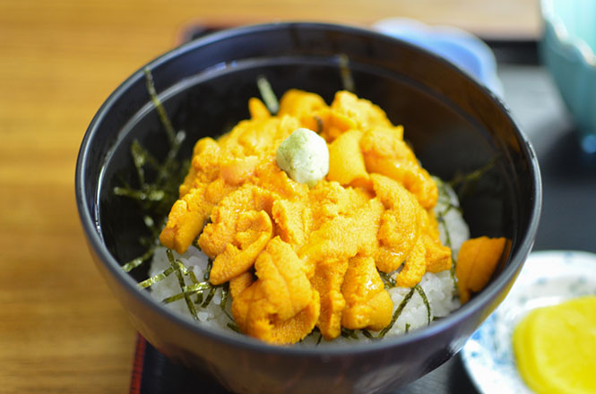 Sea Urchin Rice Bowl of Isoyakitei