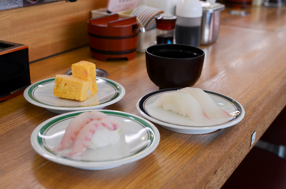 Conveyor Belt Sushi -Kanigen in Abashiri-
