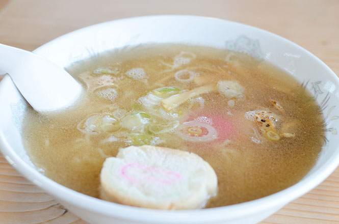Salt Ramen with Scallop -Mamiyado in Wakkanai-
