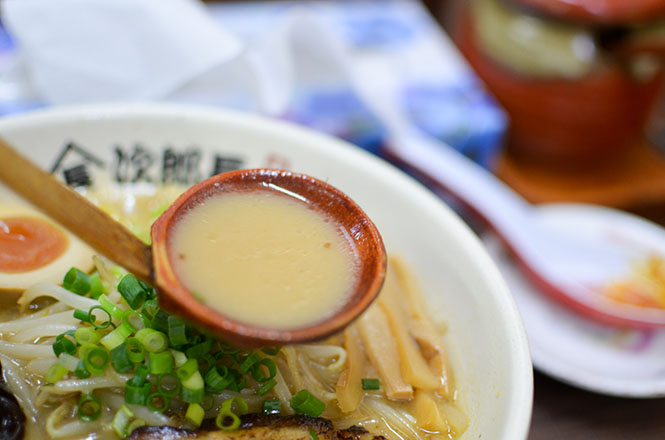 Spicy Miso Broth Ramen -Ramen Jirocho Head Office in Mori-