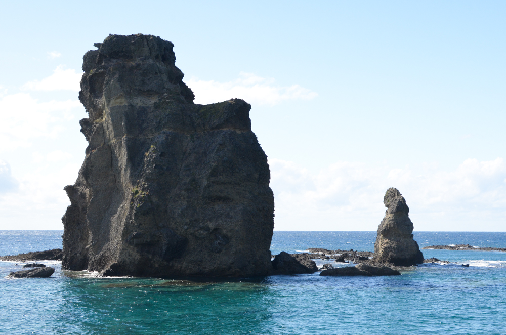 Strange Shaped Rocks in Okushiri Island