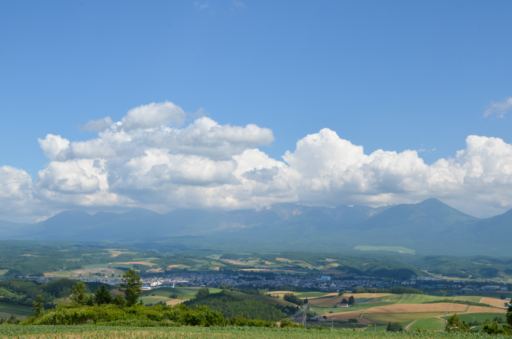 Senbo Pass in Kamifurano