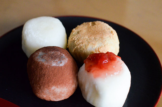 Sweet Rice Cakes -Shiroya in Sapporo-
