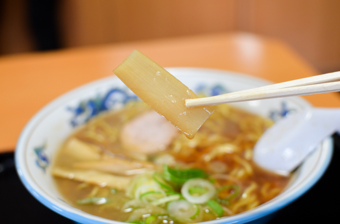 Soy Sauce Broth Ramen -Tenkin 4jo Branch in Asahikawa-