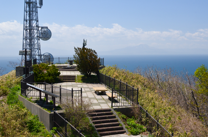 Sokuryozan Observatoion Deck in Muroran