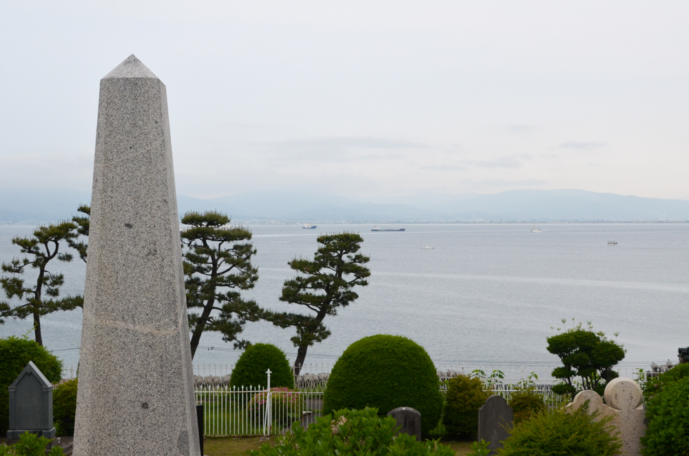 Hakodate Foreign Cemetery in Hakodate