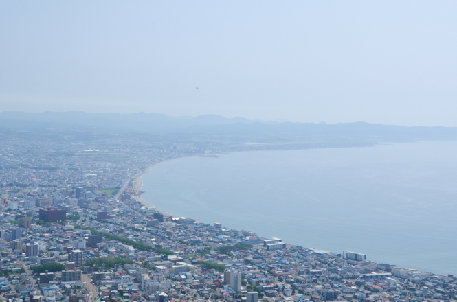 Mt. Hakodate in Hakodate