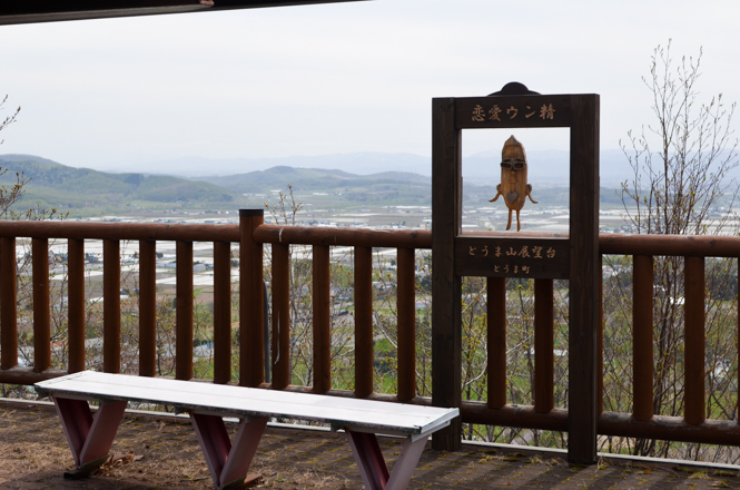 Tomayama Observation Deck in Toma