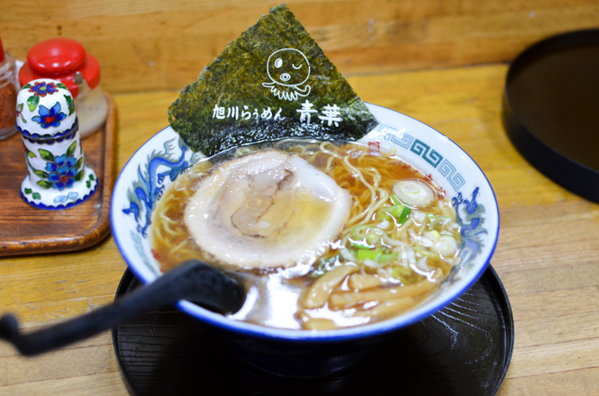 Soy Sauce Ramen -Aoba Head Office in Asahikawa-