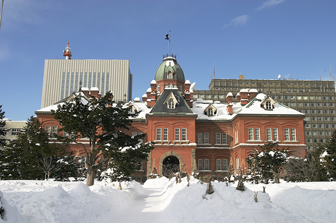 Former Hokkaido Government Office in Sapporo