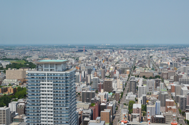 JR Tower Observation Deck T38 in Sapporo