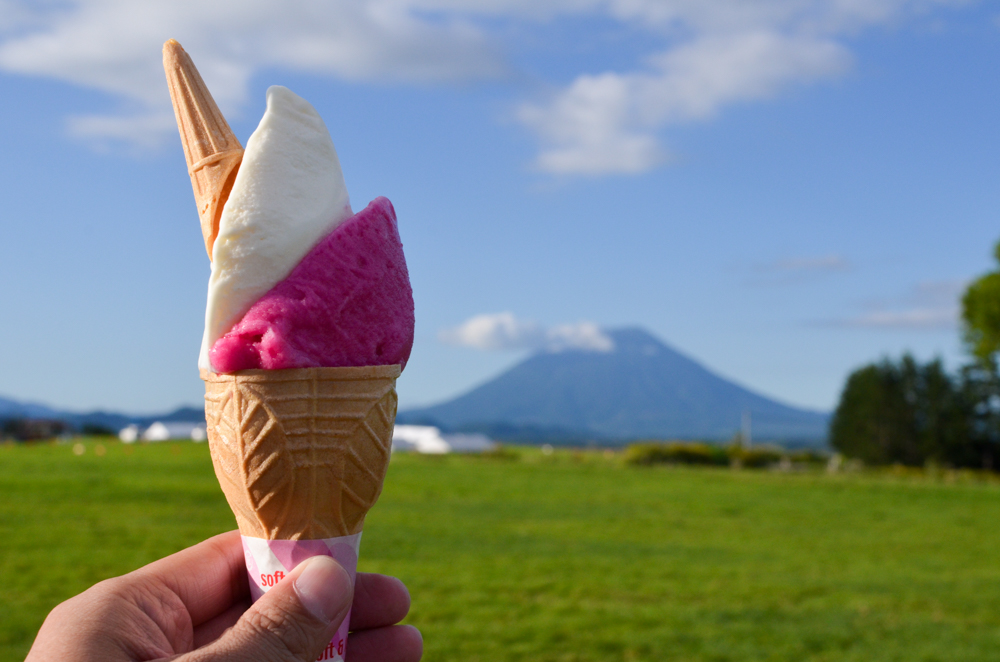 Sweets -Lake Hill Farm in Toyako-