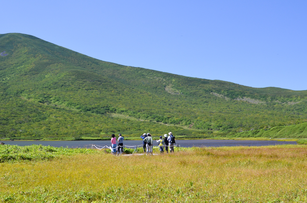 Lake Rausu in Shiretoko Peninsula