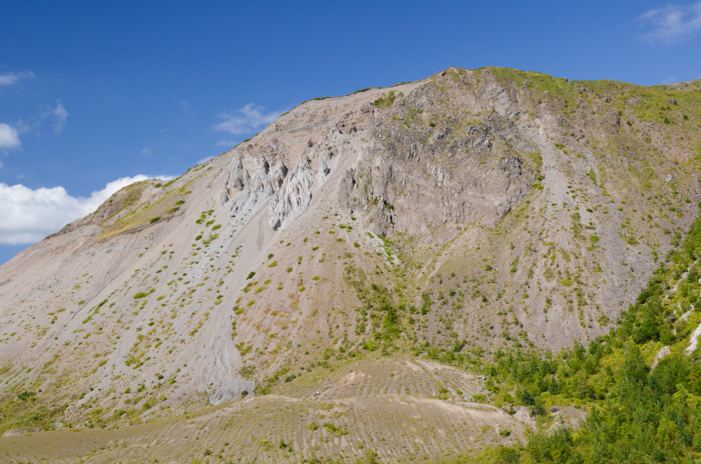 Mt. Usu in Date
