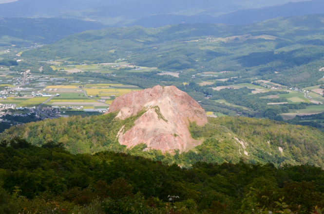 Mt. Showa-shinzan around Lake Toya